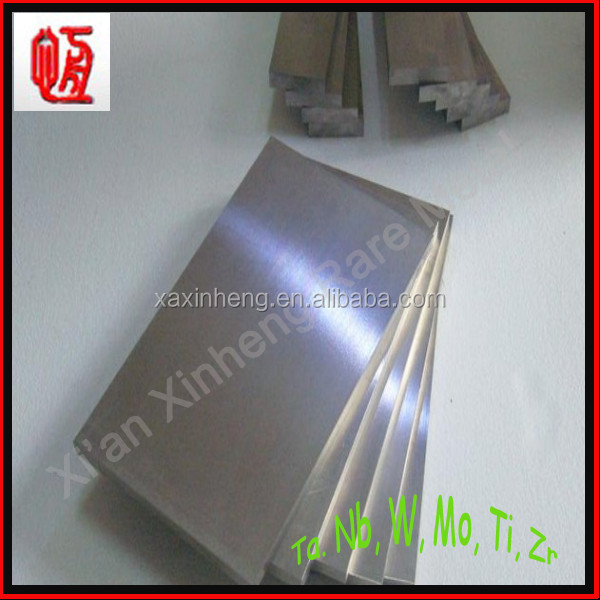 beest price 99.95% pure rolled tantalum sheets/plate