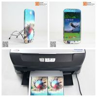 T shirt printing machine for mobile phone sticker your own business