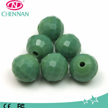 pujiang 96 faceted crystal bead loose cheap glass beads for scarf