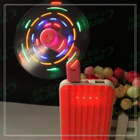 New Portable Mini Usb Mobile Phone Cooling toys with lights fan candy