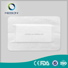 sterile surgical medical supplies absorbent non woven hemostatic antimicrobial wound dressing pack kit set pad adhesive plaster