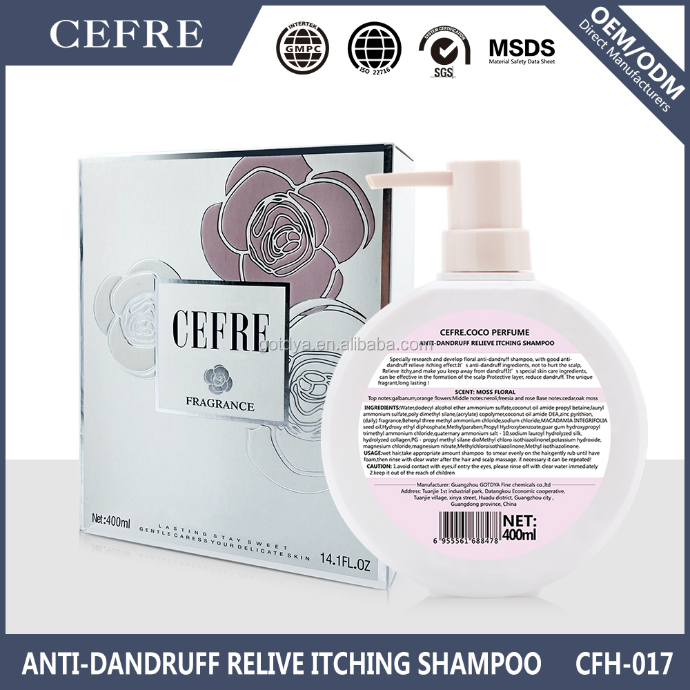 private label hair care perfume shampoo for Malaysia