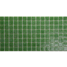 hand painted glass mosaic tiles/ wall ceramic mosaic tile/green mosaic tile sheets A42