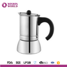 Amazon hot selling LFGB stainless steel coffee maker Italy espresso coffee machines for coffee