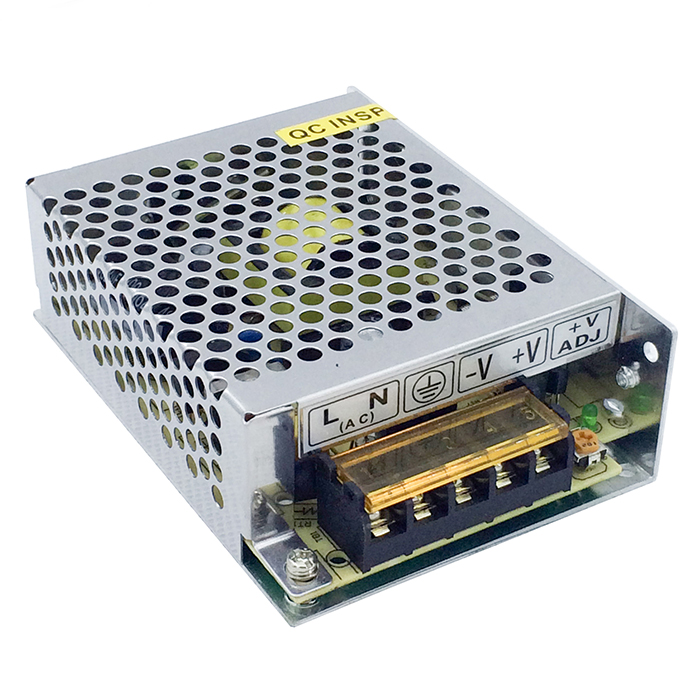Switch Model Power Supply 60w 48v Metal shell with 1.25A output for LED Lighting CCTV Camera