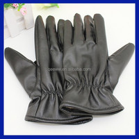 2015 Fashion cool mens leather driving gloves car driving leather gloves