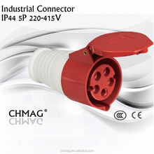 Industrial connector Industrial female and male plug and socket (16A 220-240V 5poles, IP44) 215