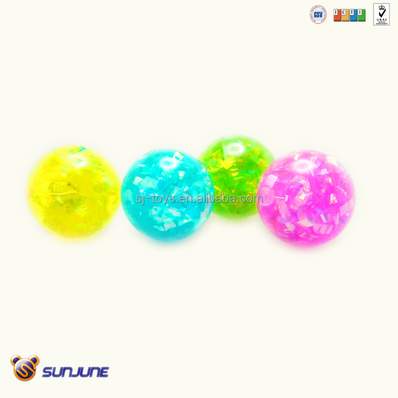 60mm colorful bouncing ball