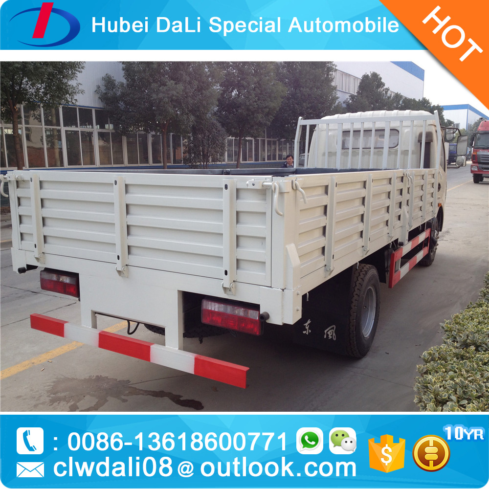 6 wheels diesel light cargo truck