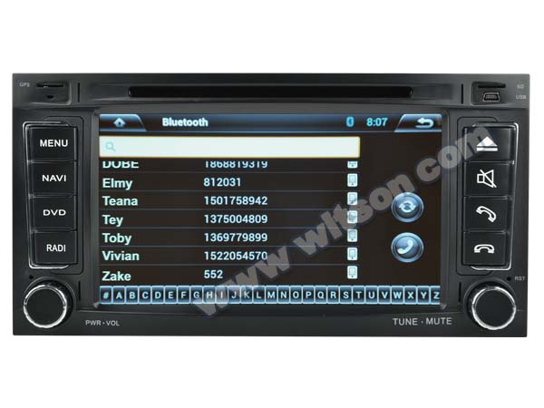 WITSON ANDROID 4.2 VW TOUAREG CAR VIDEO WITH A9 CHIPSET 1080P 8G ROM