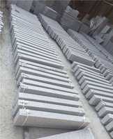 Grey granite kerbstone, cheap G603 granite natural stone with owner quarry