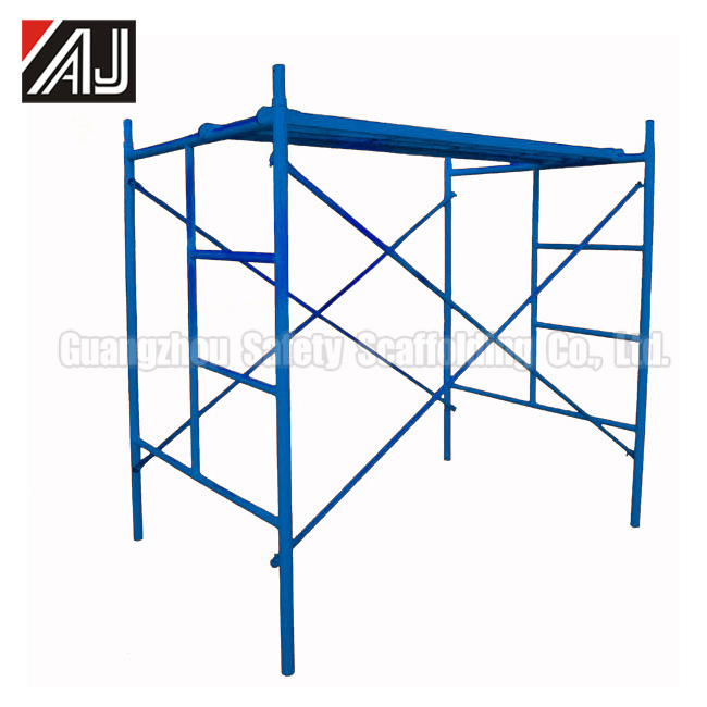 Construction Ladder Type Frame Scaffolding For Concrete Supporting And Masonry Construction (Made in Guangzhou )