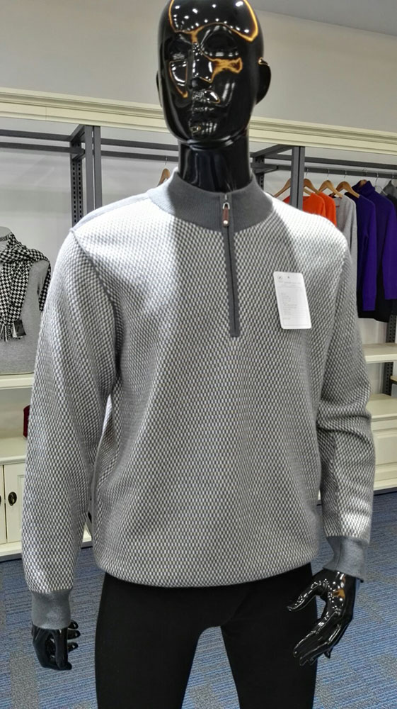 100% Cashmere Fashionable Sweater For Men