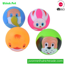 WR062 Hot sale pet dog voice sound ball toy feeding food ball,squeaky ball dog toys