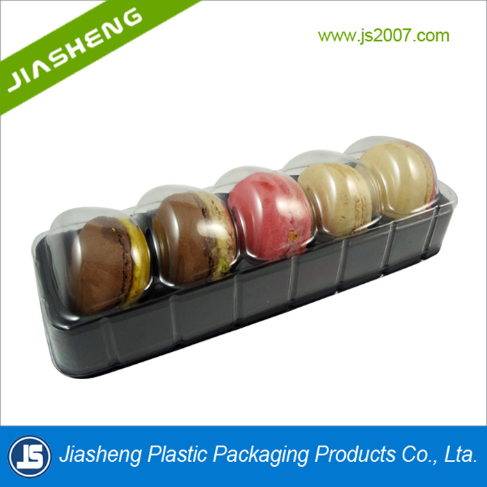 5 pcs Plastic Macaron box Blister clamshell for Macaron packaging