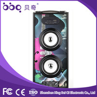 Special style and good price 2.1 mini disco light speaker
