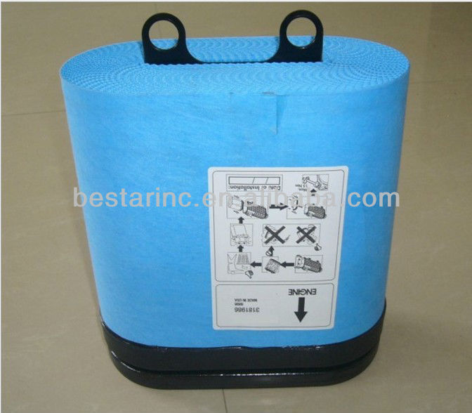 Truck Air Filter Element With Honeycomb Paper 3181986