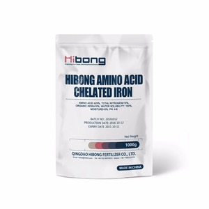 Amino Acid Chelated Iron Fertilizer, Iron Chelate for Agriculture
