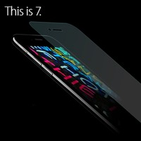 Transparent tempered glass screen protector for iPhone 7 7 Plus