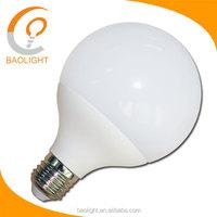 High quality E27 B22 base 12W 15W plastic led ball bulb light led globe bulb 100-240V CE EMC RoHS LED bulb