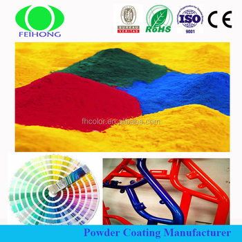 Ral Colors Industrial Powder Coating with Good Decorative Property