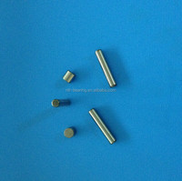 Bearing round end needle rollers/pins