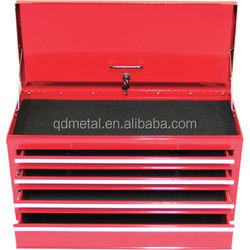 Hot sale Red Metal usag tool Storage Box made in China