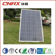 225w tuv flexible high efficiency poly crystalline silicon solar panel with full certificate