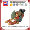 2017 cheap resin figurines garden gnome for sales