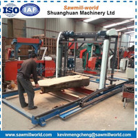 Patented Product !!! Large Size Wood Cutting Chain Sawmill Electric Chainsaw Gasoline Chain Saw Mill