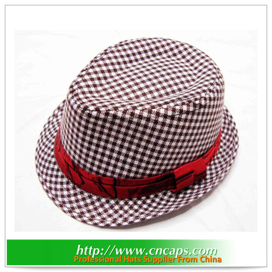 baby fedora hat custom made and wholesale