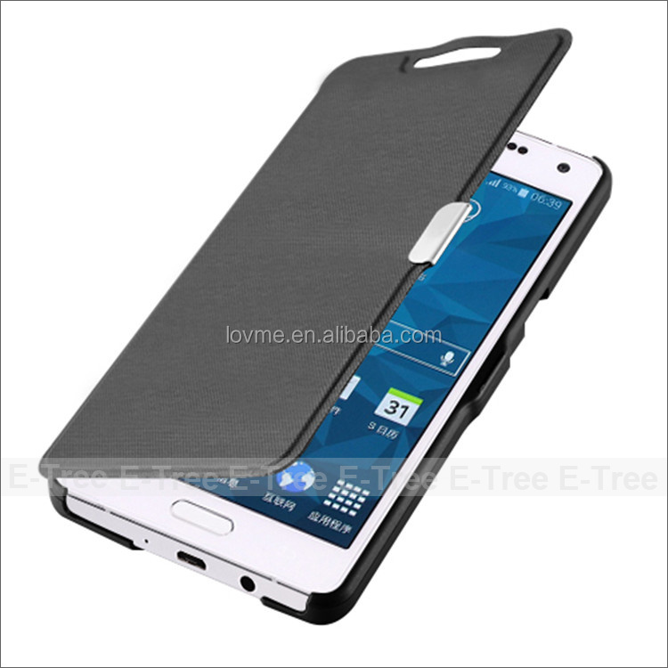 Hot Sale Gorgeous Ultra Slim Silk PU Leather Wallet Magnetic Case For Samsung Galayx A5 With Free Screen Protector