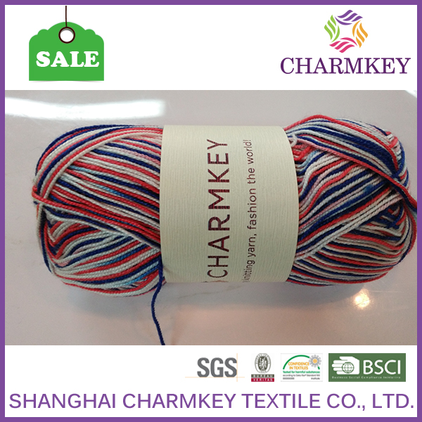 Good acrylic yarn for cup set with quality