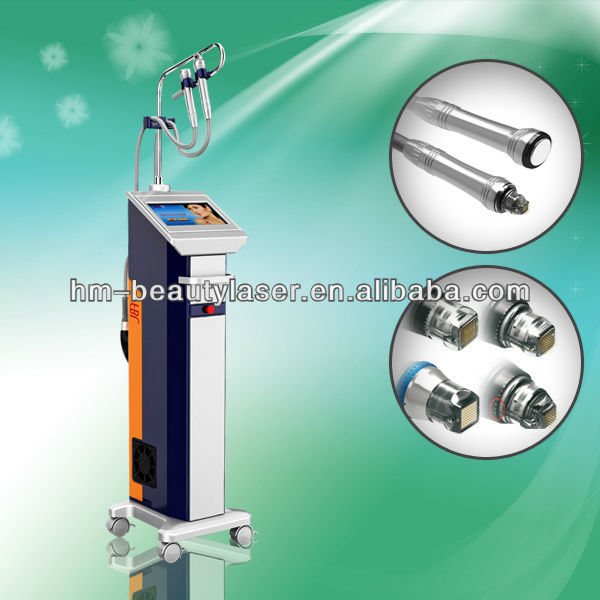 Pinxel cryo microneedle fractional rf system
