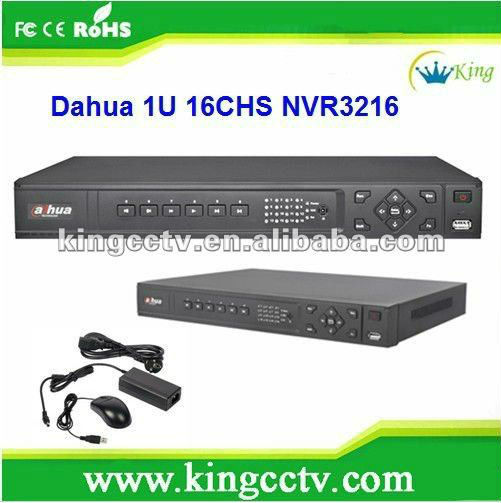 Dahua 4CH 8CH 16CH DVR NVR HVR CCTV h.264 Network HD IP Camera Onvif DVR 1U Network Video Recorder