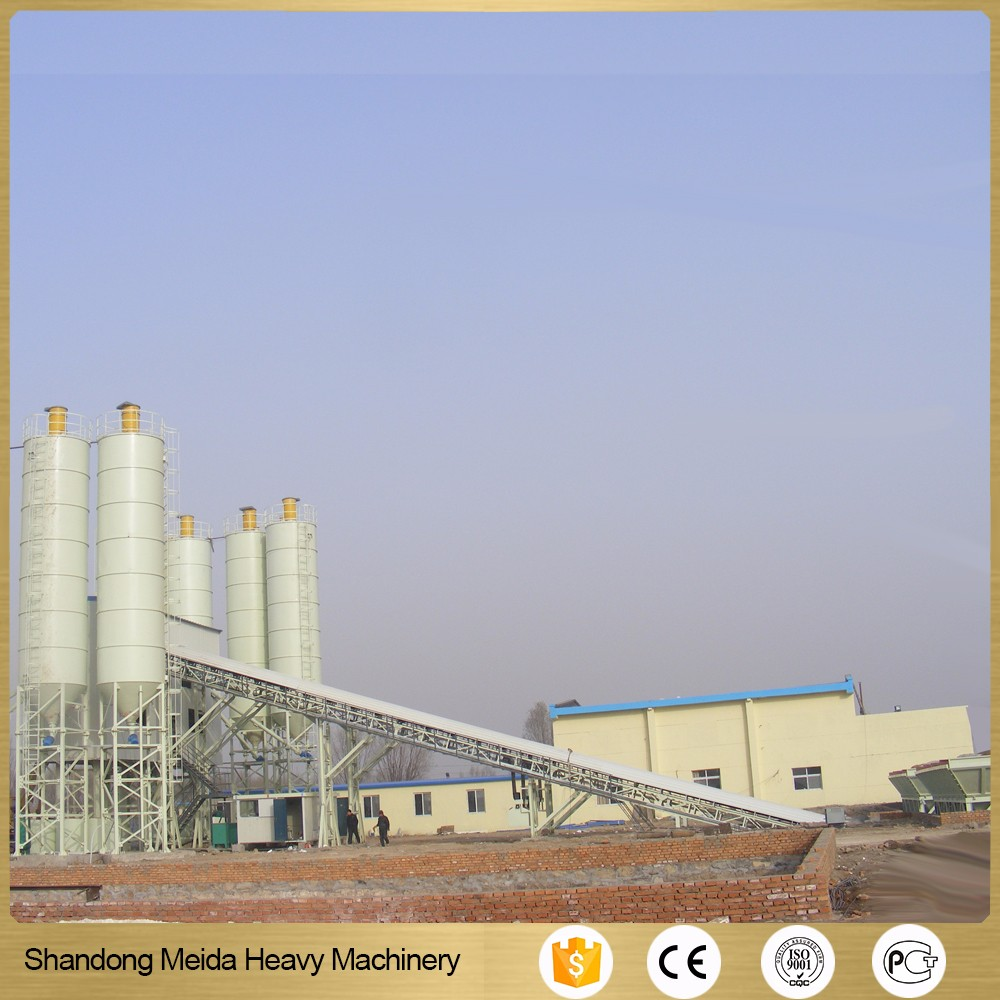 mobile concrete planting equipment HZS60 60m3/h batching plant