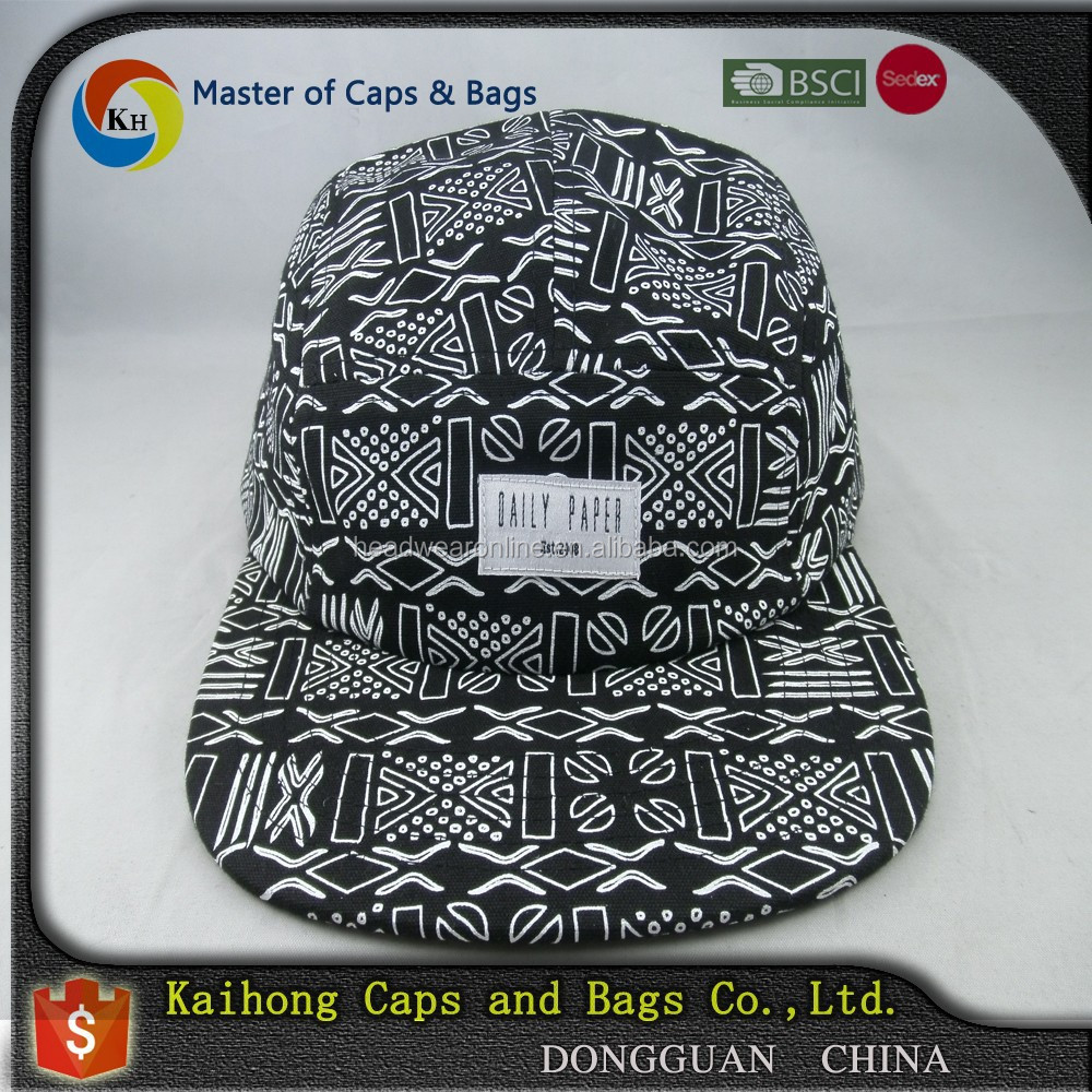 full screen printed 5 panel cap /5 panel hats <strong>custom</strong> / 5 panel hats 5 panel cap