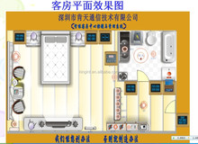 Hotel hardware and software System, Project in Shenzhen