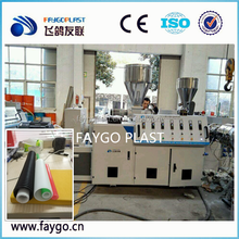 PP PE PVC Single Wall Corrugated Pipe Extrusion Machine