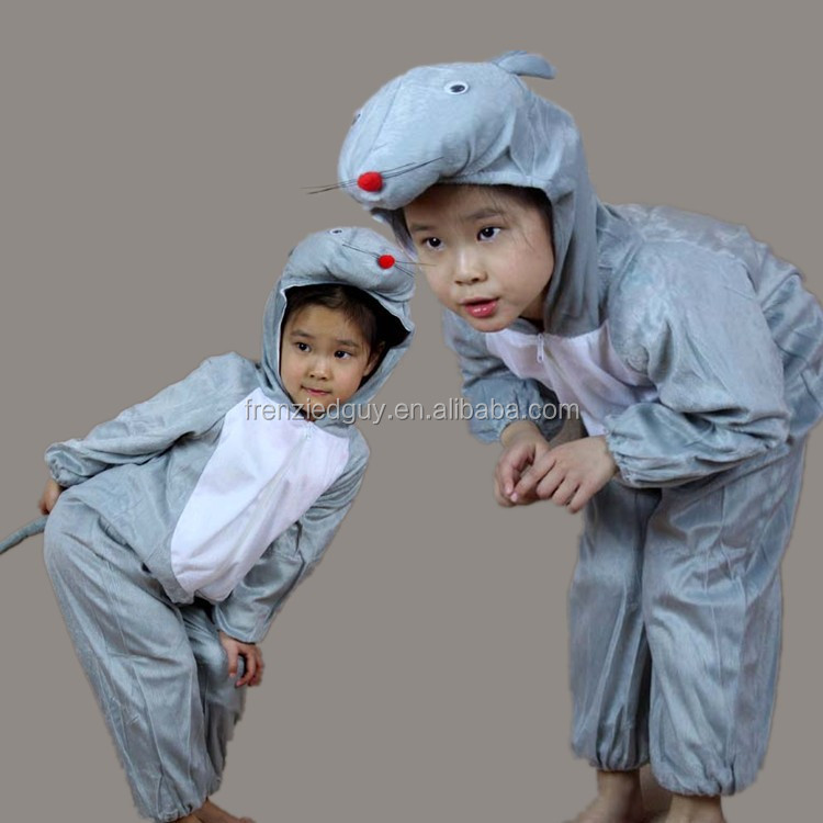 funny kid animal jumpsuit mouse party costume