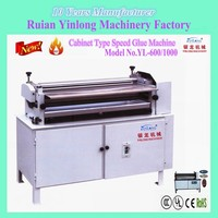 Cold and Hot Glue Cabinet Type Adjustable-Speed Gluing Machine for paper,paper boxes ,