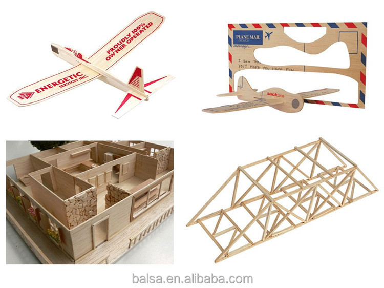 Balsa Wood Strip Free Samples Quick Delivery