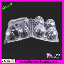 Guangdong factory compartment pet plastic food tray