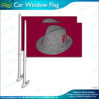 Alabama Crimson Tide car window flags