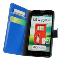 OEM acceptable New stylish high quality cheap wallet flip case cover pouch for lg l90