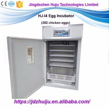 2016 the latest type of poultry egg incubator for sale which can capacity 352chicken eggs HJ-I4