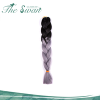 Swan Unprocessed Jumbo Xpression Synthetic Hair Braids