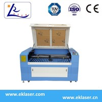 1290 40w/60w/80w Co2 Laser Cutting Engraving machine For Plywood
