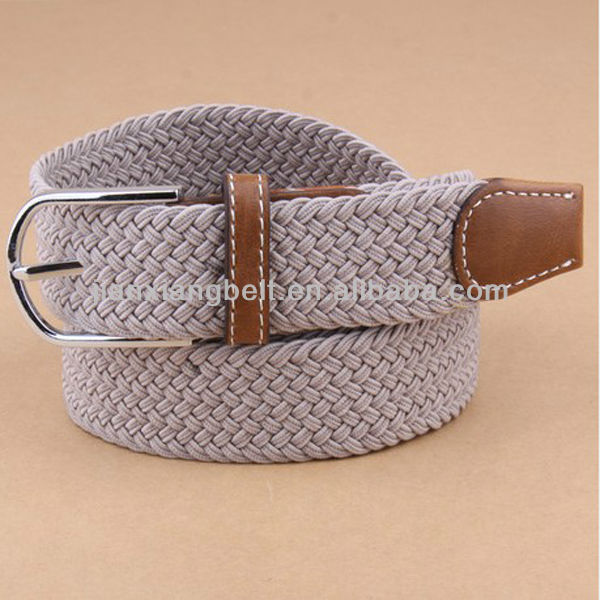Fashion High Quality Low Price Colorful Fabric Leather Braided 1.35'' Wide Beaded Waist Belt