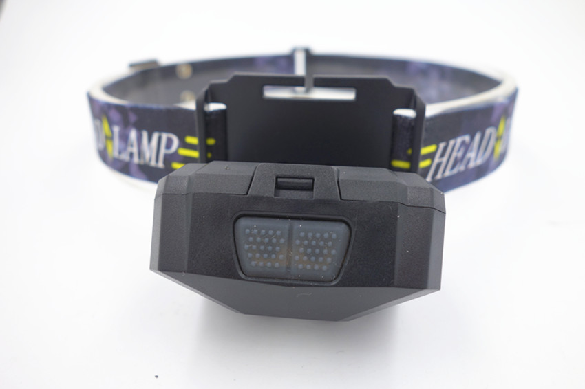 NEW rechargeable and sensable XPE black headlamp